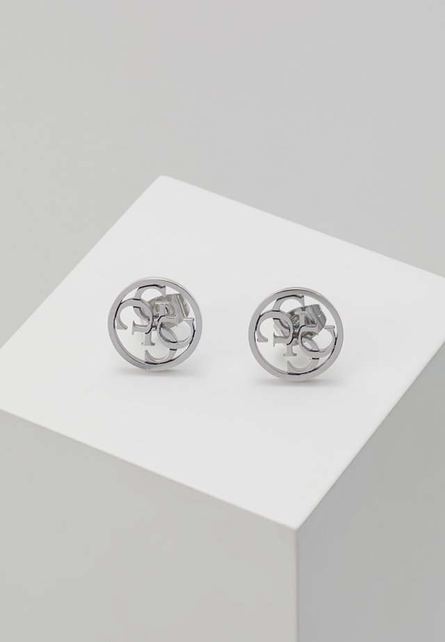 NEVER WITHOUT - Pendientes - silver-coloured