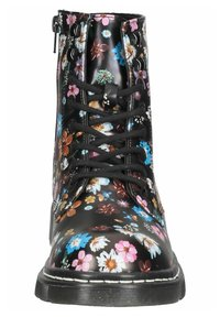 DOCKERS - Lace-up ankle boots - schwarz/orange - 6