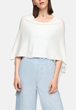 Poncho - white