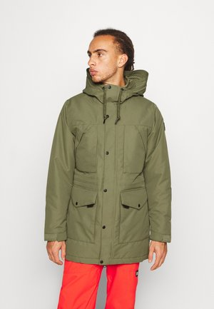 JOURNEY PARKA JACKET - Kurtka snowboardowa - dusty olive