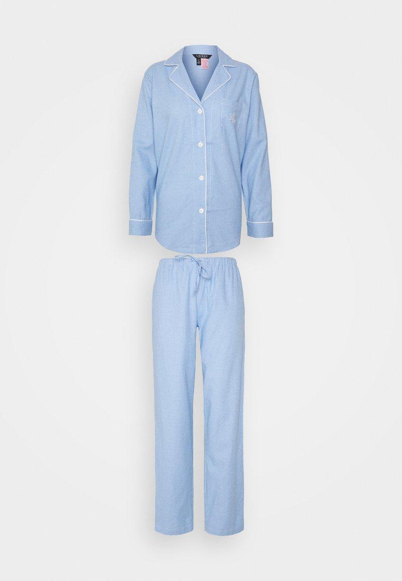 Lauren Ralph Lauren - LONG - Pyjama set - blue
