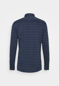 Tommy Hilfiger Tailored - FLORAL KNIT SLIM - Formal shirt - navy iris/classic blue/white - 1