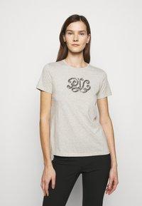 Lauren Ralph Lauren - Print T-shirt - farro heather - 0