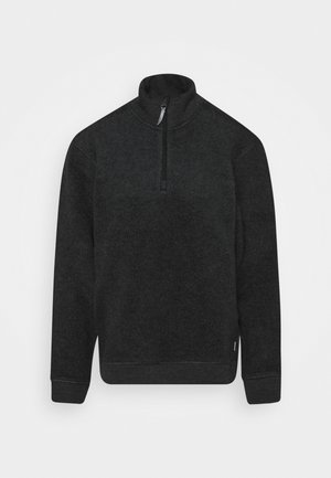ALTO HALF ZIP RED ILLUSION - Fleecegenser - true black