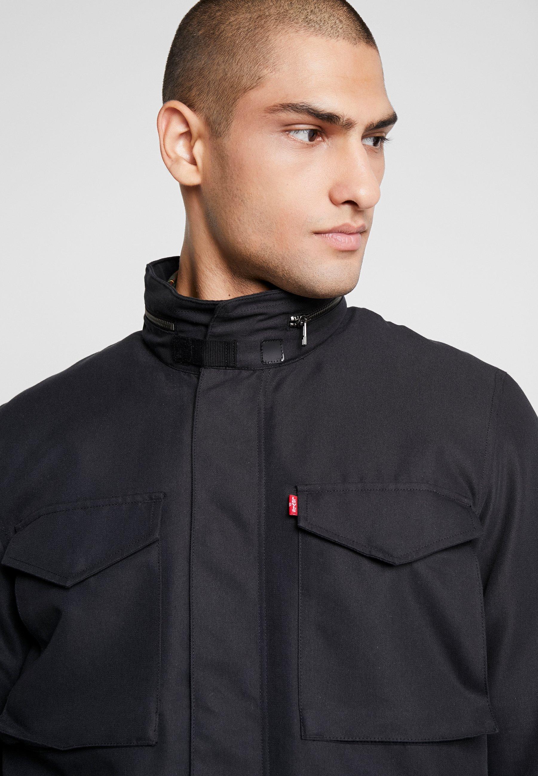 Levi's® SHERPA FIELD Lett jakke blacksvart Zalando.no