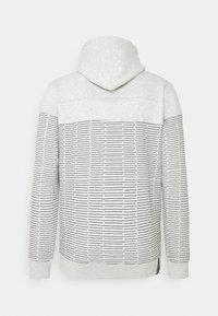INDICODE JEANS - GARZA - Zip-up sweatshirt - ecru mix - 6