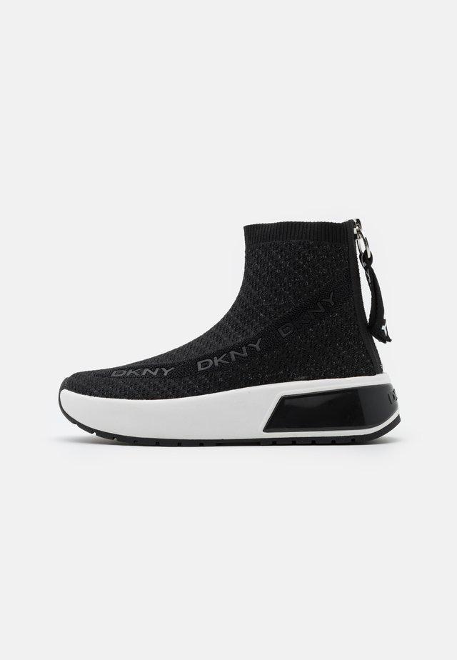 DAWSON - Sneakers alte - black