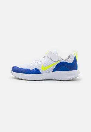 WEARALLDAY UNISEX - Tenisky - white/volt/game royal/grey fog