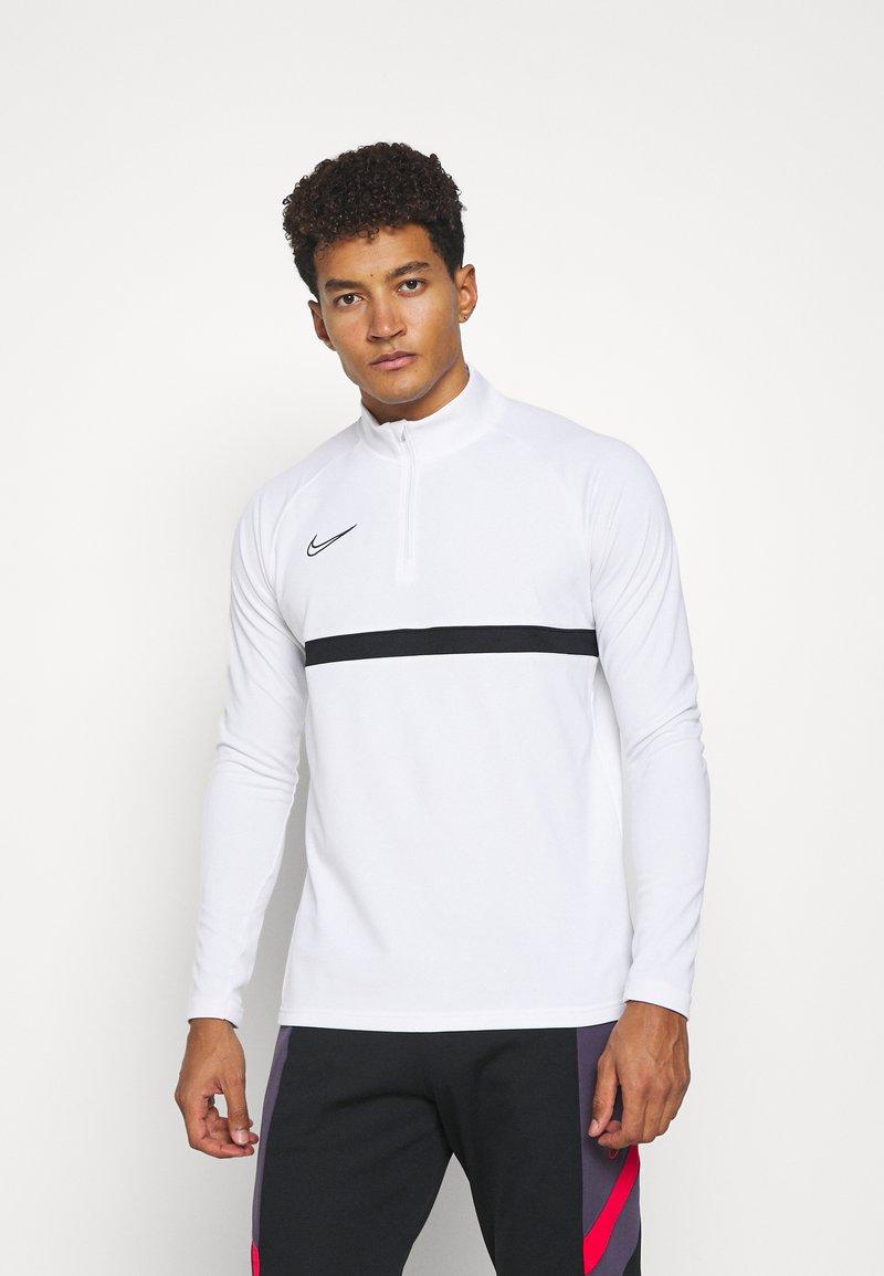Nike Performance - ACADEMY DRIL - Funktionstrøjer - white/black