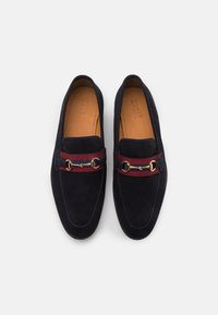 Zign - LEATHER - Mocasines - dark blue - 3