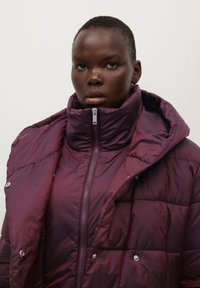Violeta by Mango - SOHO7 - Winter coat - granatrot - 3