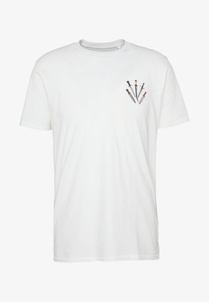 SMALL DAGGER - T-shirt imprimé - white