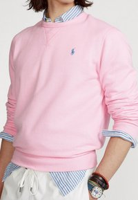 Polo Ralph Lauren - FLEECE CREWNECK SWEATSHIRT - Sweatshirt - carmel pink - 4