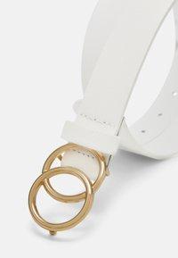 ALDO - Belt - white - 2