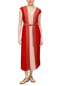 s.Oliver BLACK LABEL - Day dress - red colourblock - 6