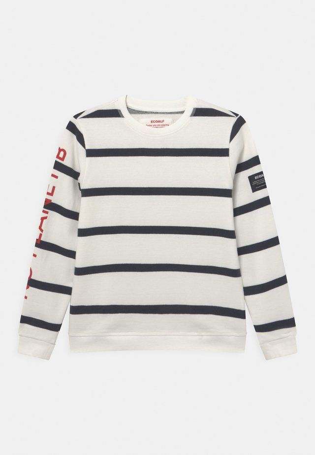 SAILOR - Sweater - off white/blue