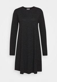 DRESS - Jumper dress - dark grey