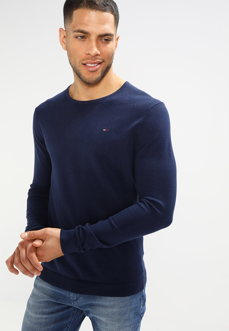 Tommy Jeans - ORIGINAL - Jersey de punto - black iris