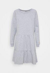 Nümph - NUNANNA DRESS - Day dress - light grey melange - 4