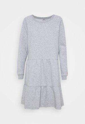NUNANNA DRESS - Day dress - light grey melange
