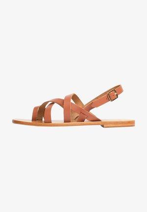 SARAH - Sandals - camel