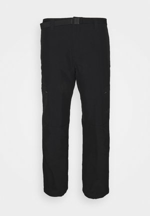 WINTER EXPLORATION CARGO - Outdoor trousers - black