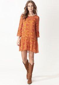 Indiska - MILLIE - Sukienka letnia - yellow - 0
