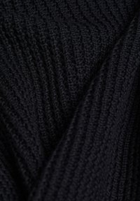 edc by Esprit - COWL NECK - Jumper - black - 5