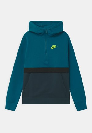CLUB - Hoodie - green abyss/deep ocean/black