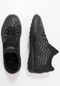 Puma - FUTURE 5.4 TT - Astro turf trainers - black/asphalt - 1