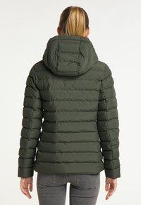 ICEBOUND - Winter jacket - dunkeloliv - 2