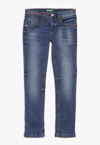 Benetton - TROUSERS - Slim fit jeans - blue - 0