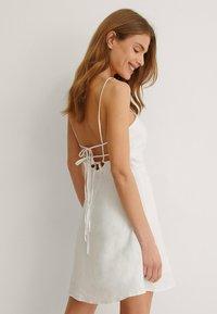 NA-KD - Cocktail dress / Party dress - white - 2