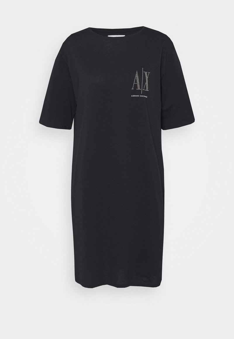 Armani Exchange - VESTITO - Jersey dress - navy