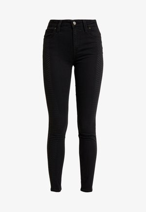 SCARLETT HIGH BODY OPTIX - Jeans Skinny Fit - la scrape
