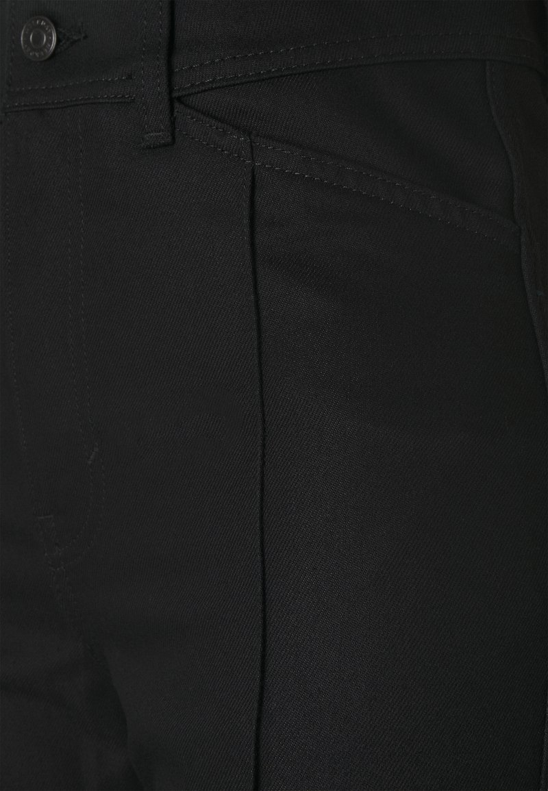 Weekday NELLIE TROUSER - Jeans Relaxed Fit - black/schwarz vBCP5v