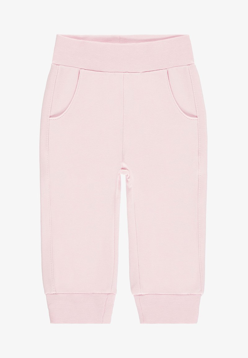 Steiff Collection - MIT HOHEM TRAGEKOMFORT BAB - Tracksuit bottoms - barely pink