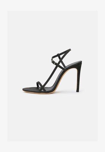 GIZIA - Sandalen met hoge hak - dark grey