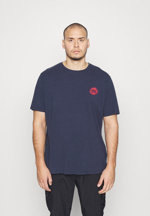 JORMIND TEE CREW NECK - Camiseta estampada - navy blazer