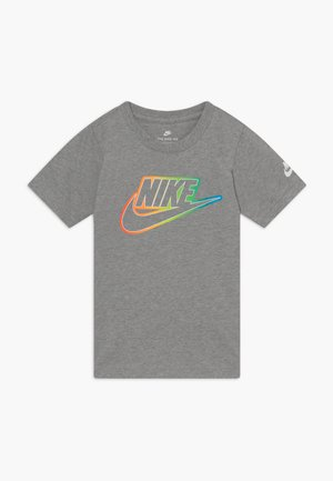 FUTURA BLEND TEE - T-shirt con stampa - grey heather