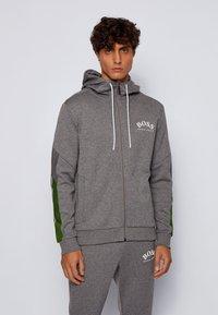 BOSS - SAGGY - Zip-up hoodie - grey - 0