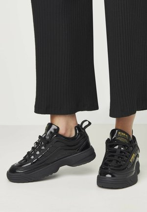 IVY - Trainers - black/gold/black