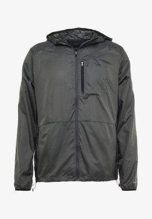 PACKABLE JACKET - Hardloopjack - dark grey/performance black