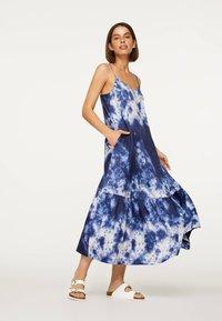 OYSHO - TIE-DYE 30751115 - Day dress - dark blue - 0