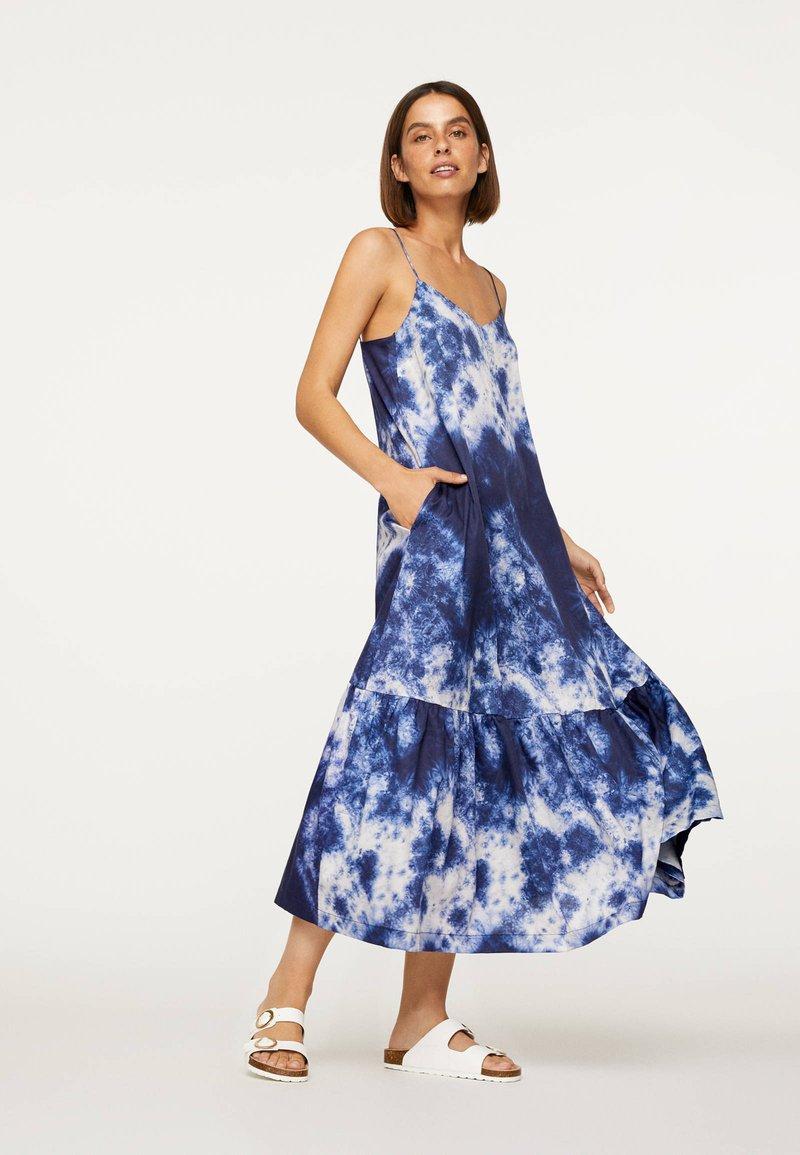 OYSHO - TIE-DYE 30751115 - Day dress - dark blue