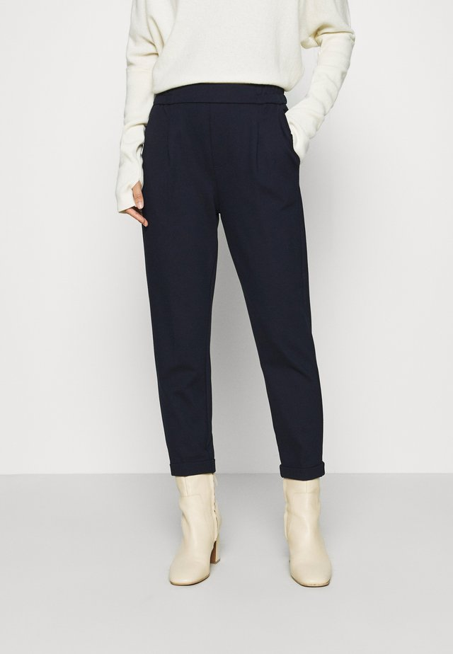 TROUSERS - Bukser - navy