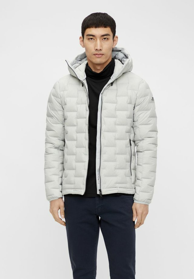 Down jacket - stone grey