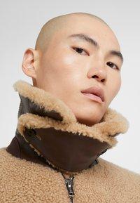 3.1 Phillip Lim - BOMBER JACKET - Leather jacket - natural - 3
