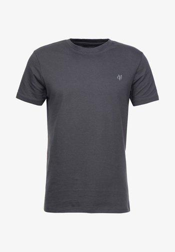 C-NECK - T-shirt - bas - gray pinstripe