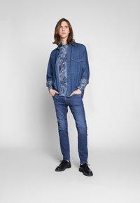 Lee - MALONE - Jeans slim fit - dark ely - 1